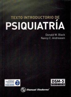 texto introductorio de psiquiatria - dsm- (5ª ed.)-donald w. black-nancy c andreasen-9786074485318